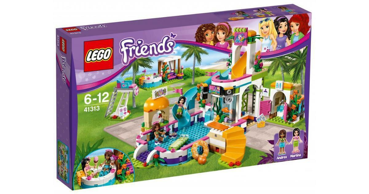 LEGO Friends Heartlake Summer Pool 41313 BRAND NEW Sealed FREE Signed Delivery