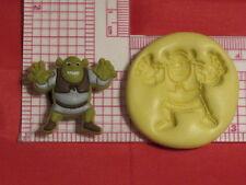 Green Ogre Silicone Push Mold #99 Cake Chocolate Fondant Pop Topper Decoration