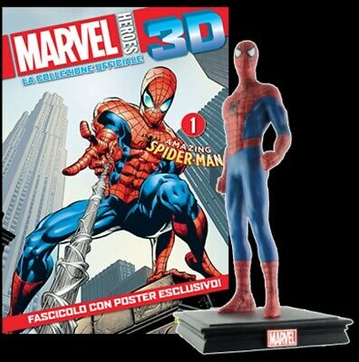 figure MARVEL 3D CENTAURIA SPIDER-MAN UOMO RAGNO