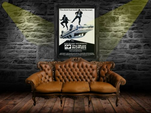 The Blues Brothers 1980 Movie Poster Print A0-A1-A2-A3-A4-A5-A6-MAXI 916