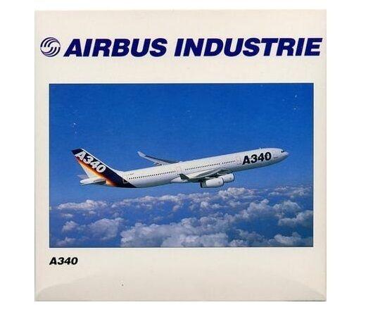 Airbus a340 - 300 - flotte herpa 504515 livree haus farben 1  500 skala ab 1999