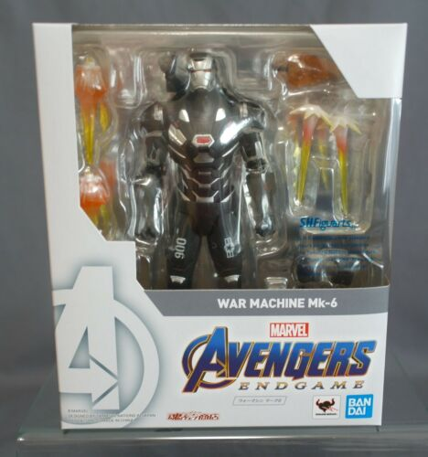 S.H Figuarts Avengers Endgame War Machine Mk-6 Bandai Limited NEW