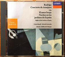 Rodrigo: Concierto de Aranjuez; Falla: El amor brujo [Canada - Dutoit/Montreal]