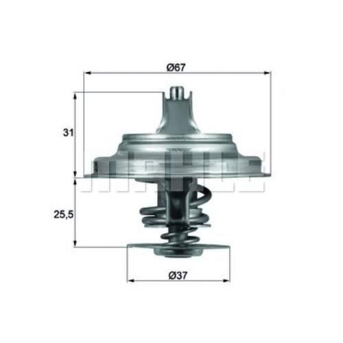 Thermostat Kühlmittel  MAHLE ORIGINAL TX 25 71D