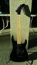1998 Kramer 7 String Electric Guitar Floyd Rose Lic.Tremolo soft case