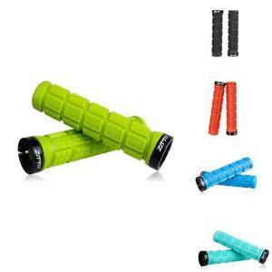 1Pair-Handlebar-Grips-Rubber-Lock-on-Anti-slip-Grip-for-MTB-Road-Bike-Cycling