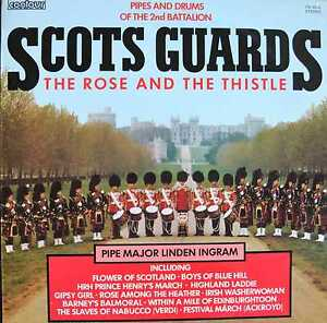 SCOTS-GUARDS-The-Rose-And-The-Thistle-LP-1975