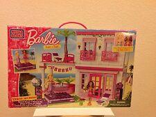 New Mega Bloks Barbie Beach House #80226 - Includes Beach Fun Barbie & Nikki