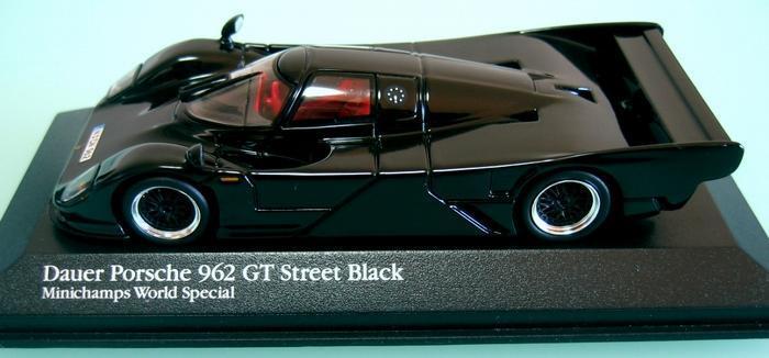 DAUER PORSCHE 962 GT STREET SVkonst 1 43 MINISTAMPS VÄRLD SÄRSKILDA