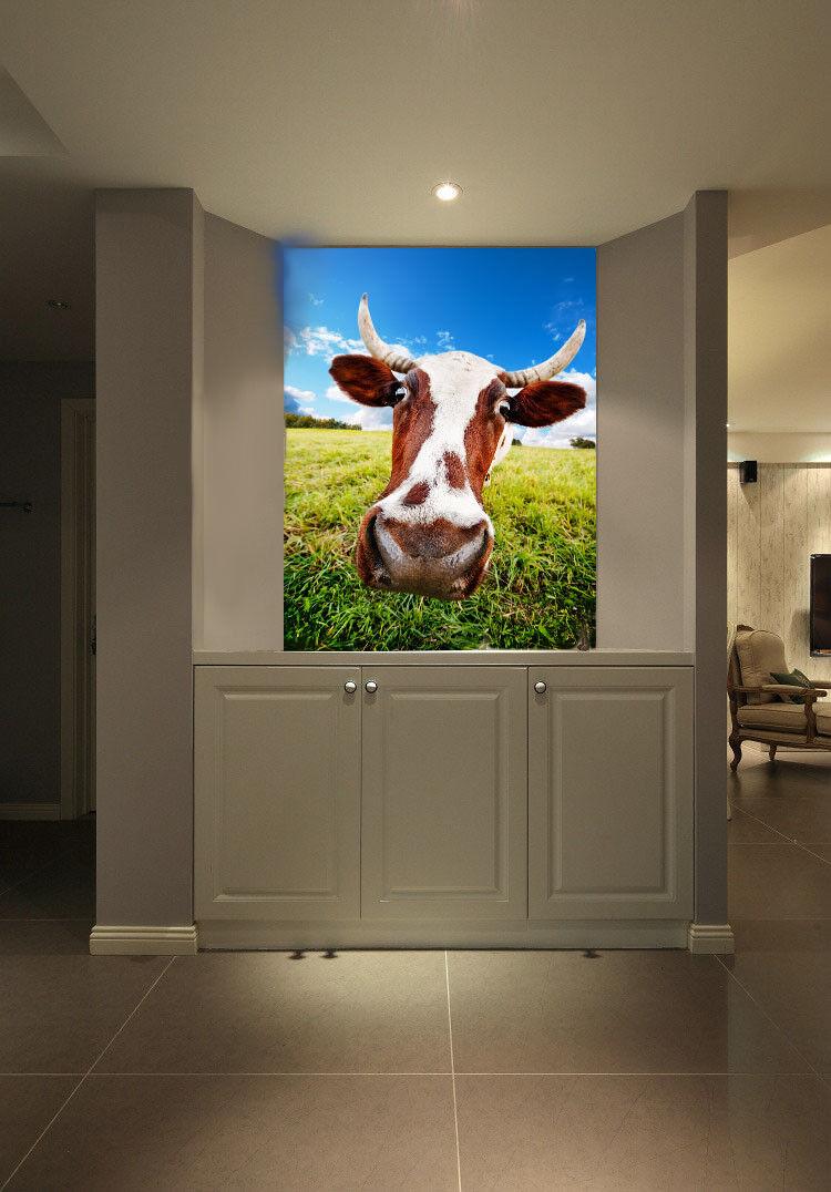 3D Lustig Kuh Foto 743 Tapete Wandgemälde Tapete Tapete Tapete Tapeten Bild Familie DE Summer | ein guter Ruf in der Welt  | Züchtungen Eingeführt Werden Eine Nach Der Anderen  d4f843