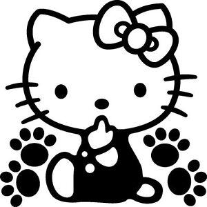 9c0402359 Hello Kitty Vinyl Decal Sticker Car Truck Window**buy 2, get 1 free ...