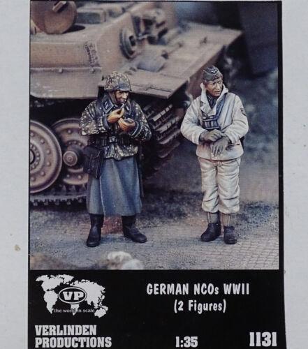 VERLINDEN PRODUCTIONS #1131 WWII German NCO´s in 1:35