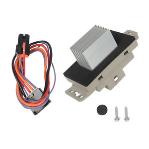 Heater Blower Motor Resistor w//Plug /& Pigtail For Chevrolet Avalanche 1500 2500