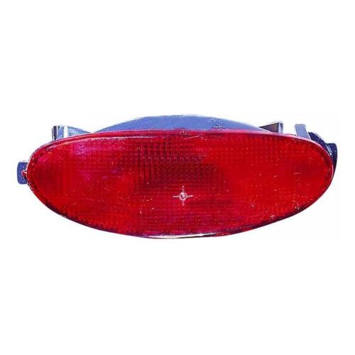 For Peugeot 206cc Cabriolet 7//2003-2009 Rear Central Bumper Fog Light Lamp