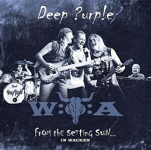 Deep PURPLE-from the setting sun... (in Wacken) 3 VINILE LP NUOVO