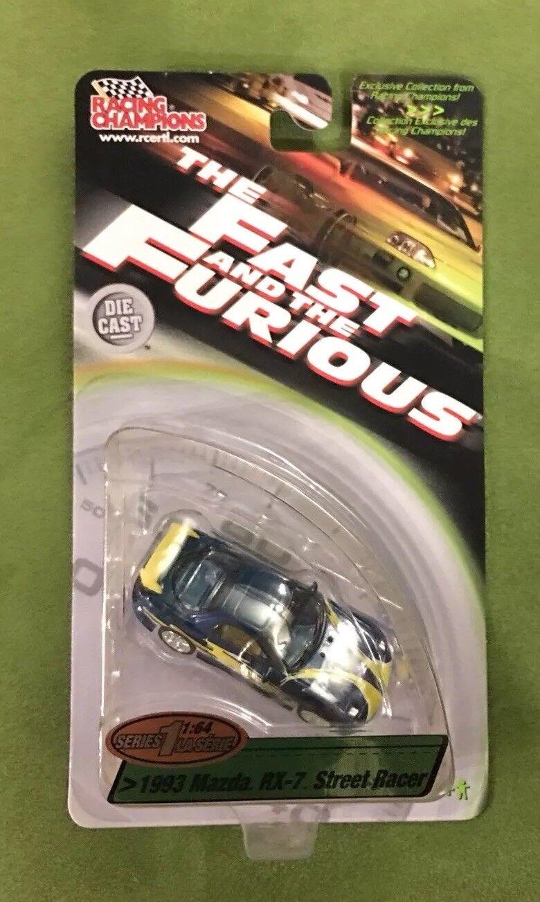 hasta un 50% de descuento 1 64th Die Die Die Cast rápido y el furioso 1993 Mazda RX-7 Street Racer serie 1  orden ahora con gran descuento y entrega gratuita
