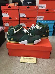 83d3eee8dda9 Nike Lebron II 2 Oregon Away PE Sample Size 11.5 D.S 100% Authentic ...