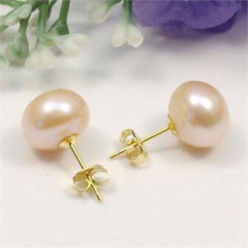 Fashion Women Charm Earring Freshwater Pearl Earrings Stud Party Lady Stud