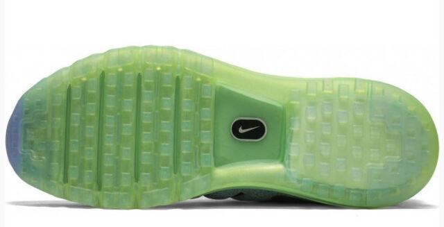 New Mens 7 NIKE Air Max 2016 Grey Electric Green Ocean Fog Shoes 806771 403 $190