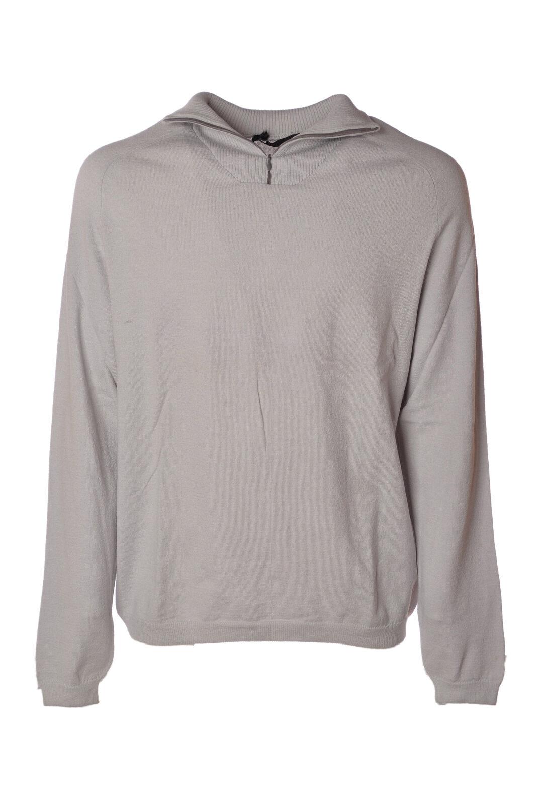 Alpha  -  Sweaters - Male - Grey - 4626522A185947
