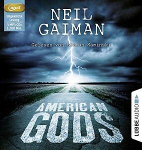 NEIL-GAIMAN-AMERICAN-GODS-3-MP3-CD-NEW