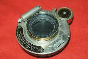 R&J Beck 7.2 Inch Isostigmar f5.8 Lens Bausch&Lomb Premo   Kodak Shutter 1907-11