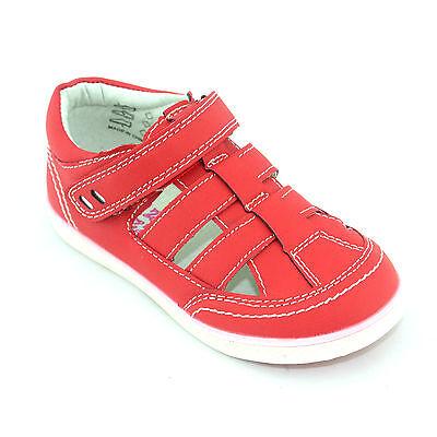 Infants Toddler Childrens Boys Velcro Casual Pumps Hi Tops Trainers Sandals Size