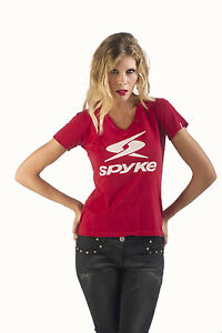 SE180010-T-SHIRT-SPYKE-WOMAN-BASIC-ORIGINAL-BIKERS-JEANS-100-MADE-IN-ITALY