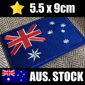 Parche bandera australiana-Hierro en-Coser/Puntada/Pegamento en-Aussie Insignia