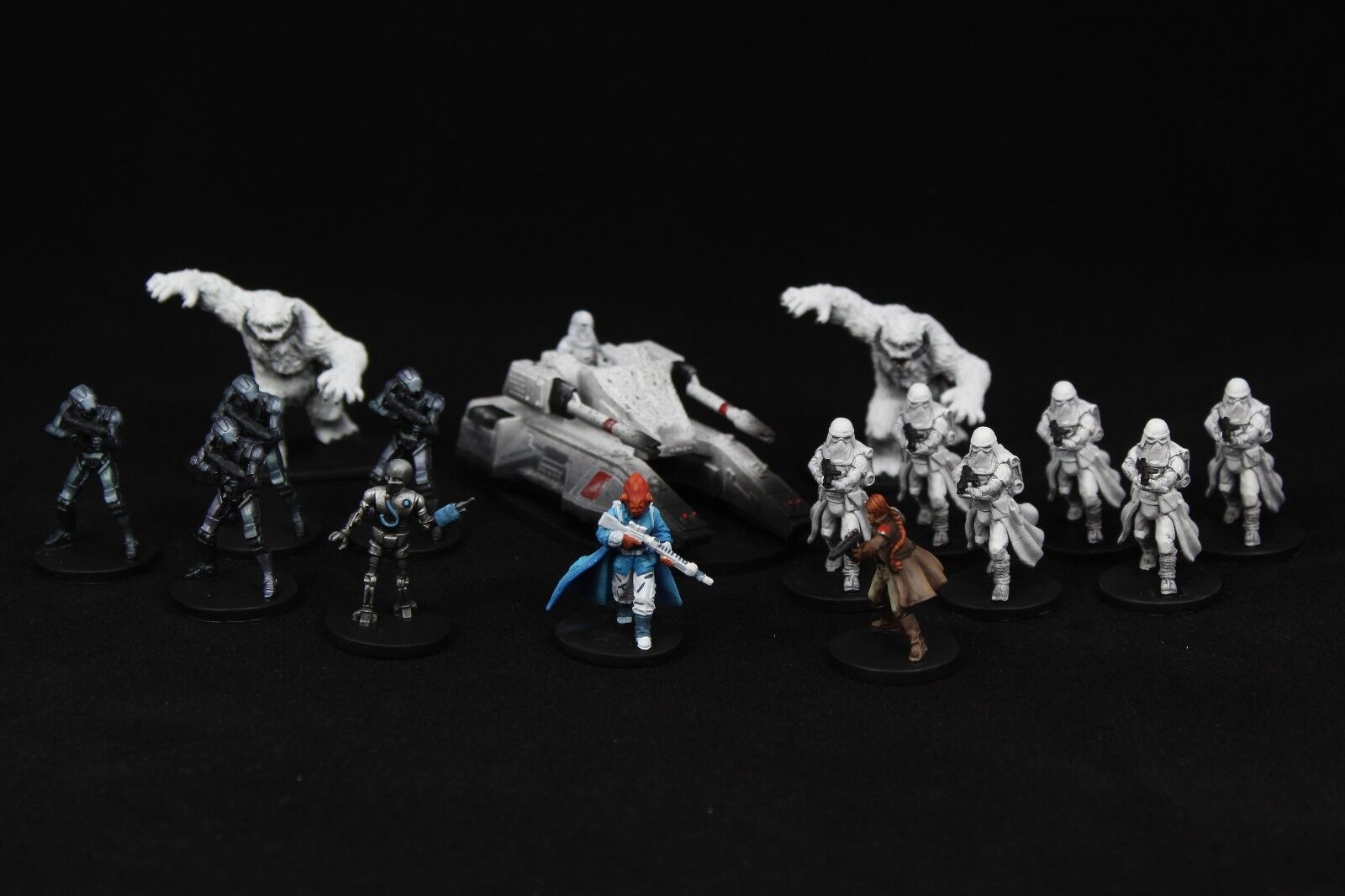 Star Wars Wars Wars Imperial Assault  Return To Hoth Pro Elite Painted 201855
