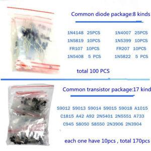 1390pcs-set-elektronische-Komponenten-Set-Basic-Elektronik-Transistoren-Sortiment