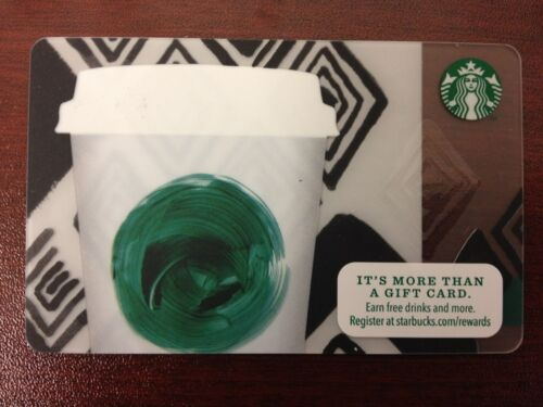 HTF Starbucks Tribute Coffee Gift Card Never Swiped NO $ VALUE