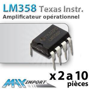 2-a-20-x-LM358P-AmpOp-Amplificateur-operationnel-Lots-de-2-5-10-ou-20