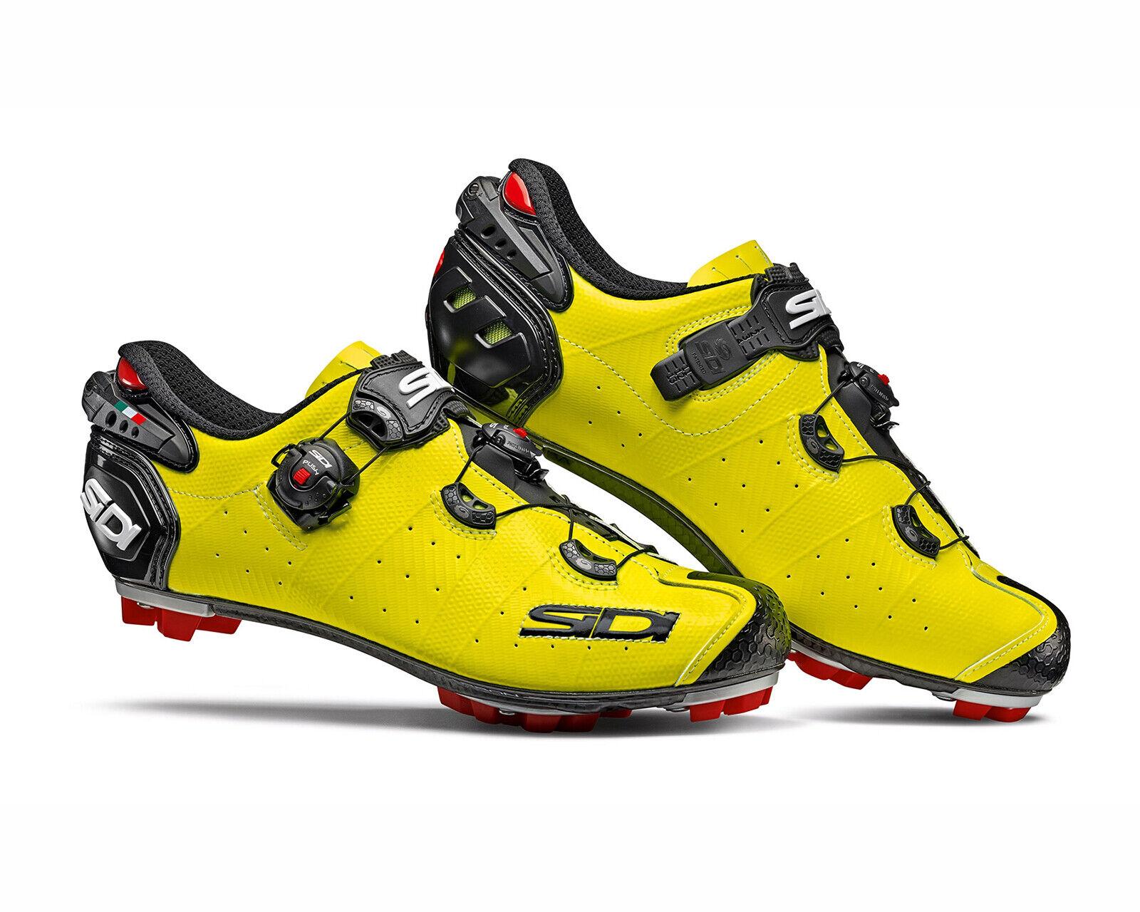 SIDI Drako 2 SRS chaussures pour le cyclisme 2019-jaune fluo noir