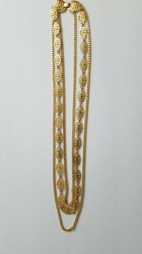 A beautiful ornate Monet necklace