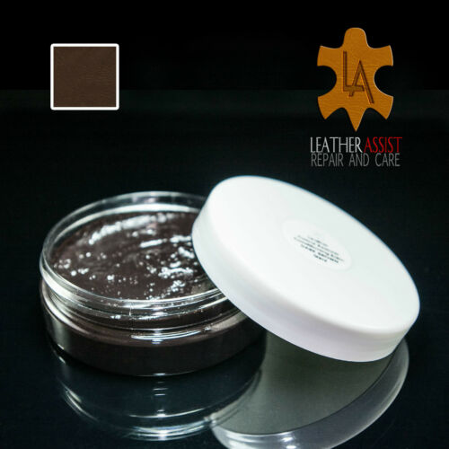 Dark Brown Leather Saddles Restorer Faded Worn Colour Dye Professional Repair