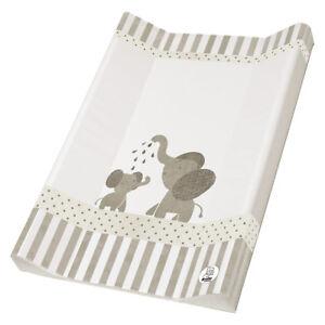 Rotho-Babydesign-Wickelmulde-Wickelauflage-Folie-2-Keil-Modern-Elephants