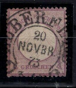 G128781 / GERMANY / REICH / MI # 1 USED CV 160 $