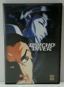 ALL-REGIONS-DVD-ANIME-MANGA-PSYCHO-DIVER