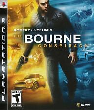 Robert Ludlum's The Bourne Conspiracy (Playstation 3, PS3) - NEW - FREE SHIPPING