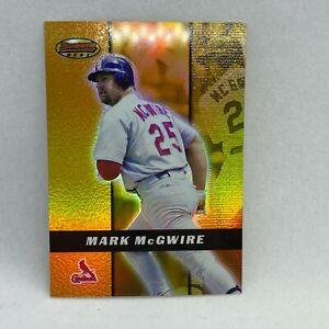 2000 Bowman's Best #81 Mark McGwire MLB Baseball Card St. Louis Cardinals