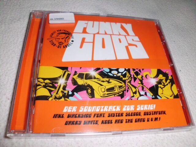Funky Cops O.S.T - Soundtrack zur Serie   DJ Abdel  CD - OVP