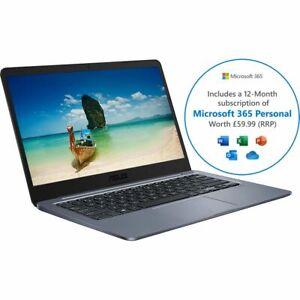"Asus E406NA 14"" Laptop 4 GB RAM 64GB Intel® Celeron® Windows 10 Home S Includes"