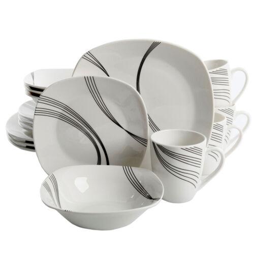 Ebern Designs Leeroy 16 Piece Dinnerware Set Service for 4