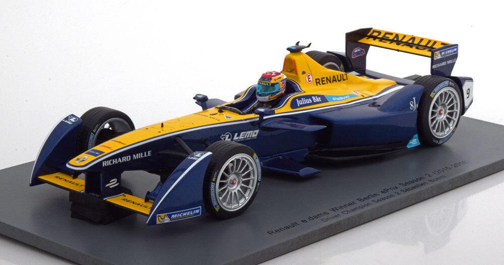 Spark Renault E E E Barrages Champion Saison 2 2016 Buemi  9 1 18 36d8dc