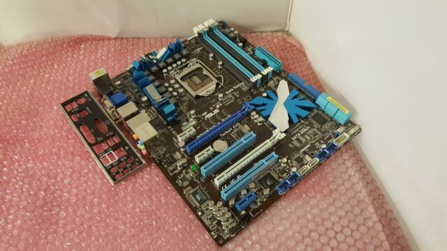 ASUS P7H57D-V EVO Socket LGA1156 DDR3 PCI-E Motherboard With I/O Shield