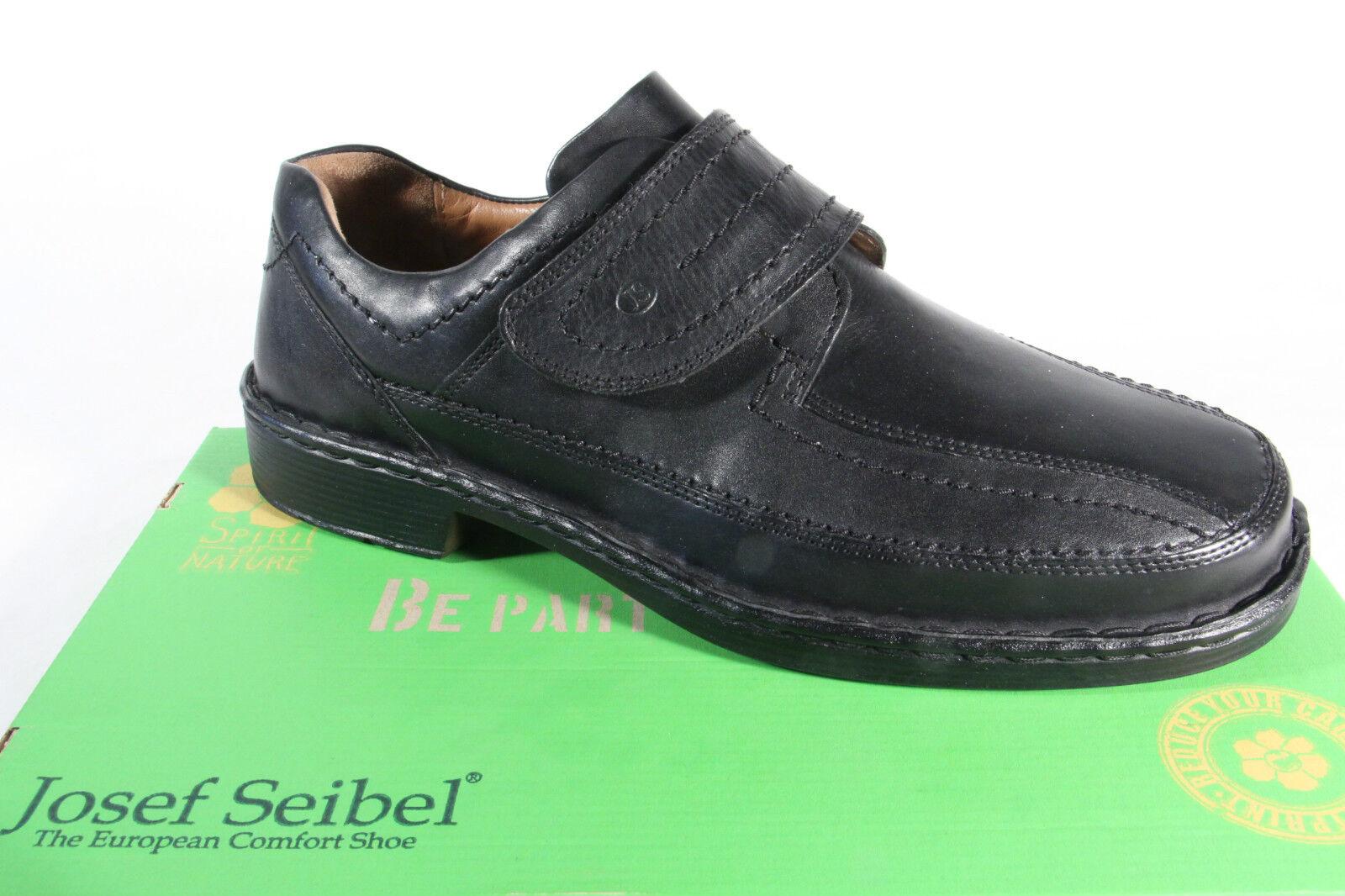 Seibel Slipper, Halbschuhe Sneakers Sportschuhe schwarz Leder NEU