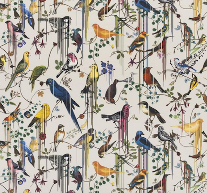 risparmiare sulla liquidazione Designers Guild Guild Guild Christian Lacroix tessuto Birds Sinfonia Jonc FCL7024 03 3.3M  spedizione veloce a te