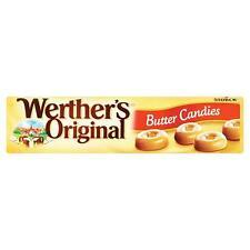 Werther's Original De Mantequilla Dulces 50g Roll-Caja de 24