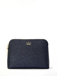 Små Kate Clutch Spade Bag Burgess Glitter Court Purse Briley Blå Lakeshore qqFPtr